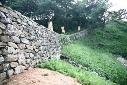공주공산성 성벽