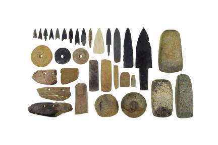청동기 집자리 출토 석기 및 토제품류