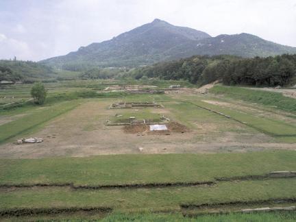 익산미륵사지동탑지와주변지역(복원전)