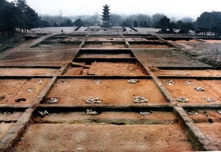 왕궁리5층석탑(국보제289호)주변건물지(92년발굴)