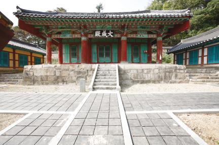 김제군 관아와 향교 - 대성전