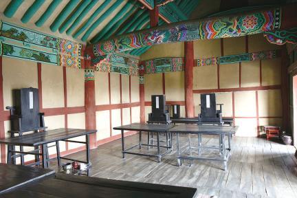 김제군 관아와 향교 - 대성전 내부