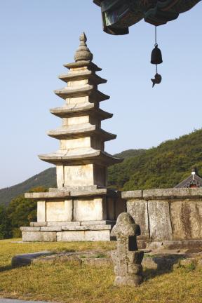 김제 금산사 일원-오층석탑