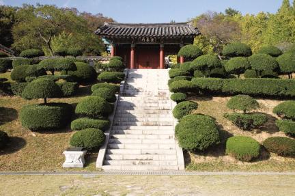 여수 충민사 - 숭모문