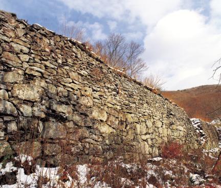장성 입암산성 성벽