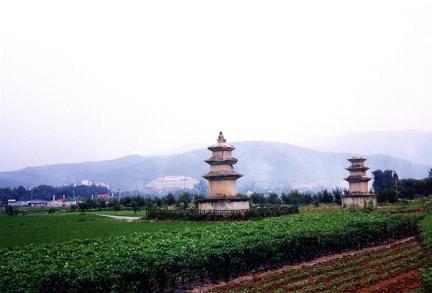 사지전경(남서-북동)