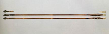 철촉,오늬,화살(모형)E3-2호분
