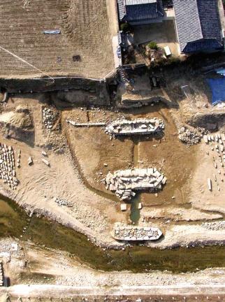 일정교발굴전경