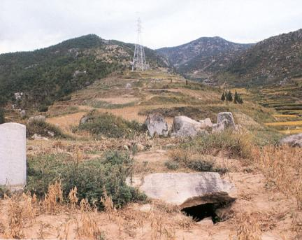 김해구산동B고분군전경