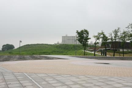 김해 대성동 고분군 전경