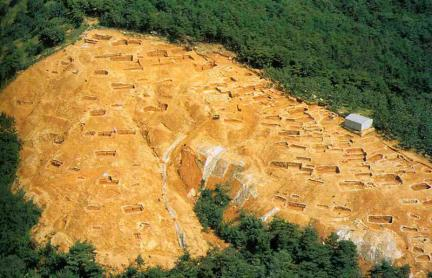 김해양동리고분군유적발굴전경