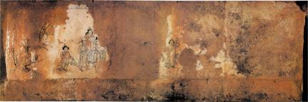 북서장벽 벽화