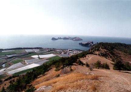 제주고산리선사유적원경(당산봉에서바라본모습)