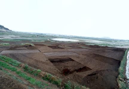고산리유적전경(서쪽에서바라본모습)