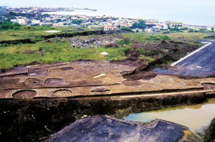 삼양동 유적 1지구 발굴 전경