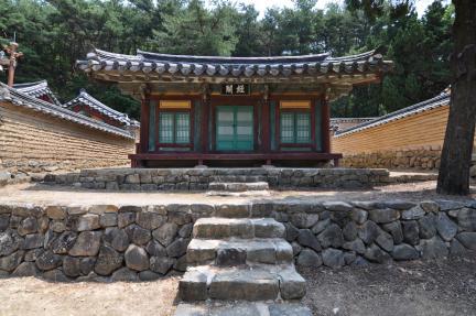 경주 옥산서원 경각 정면 (고도보존육성과, 2017)