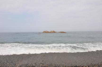 경주 문무대왕릉 해변 (고도보존육성과, 2017)
