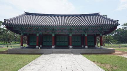 경주 오릉 제각 정면 (고도보존육성과, 2017)