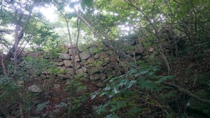 관문성 마우나리조트 바연 잔존 성벽유구 (고도보존육성과, 2017)