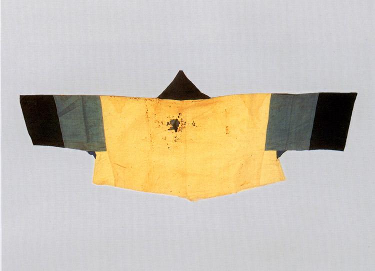Orgamental Jeogori jacket attached color febrics from King Sejo's reign