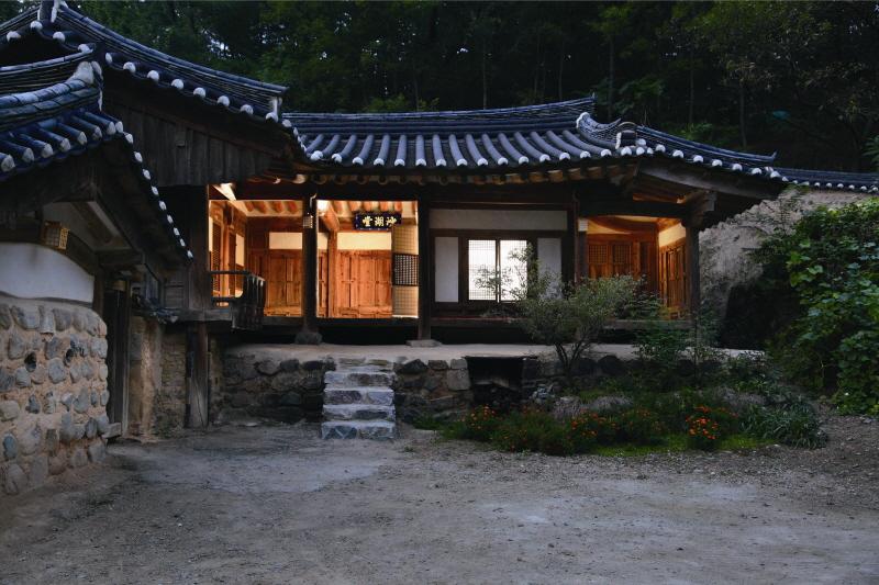 경주 양동마을 사호당 고택