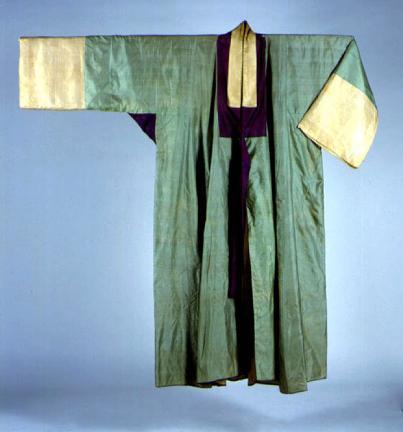 옥색명주장옷(전)