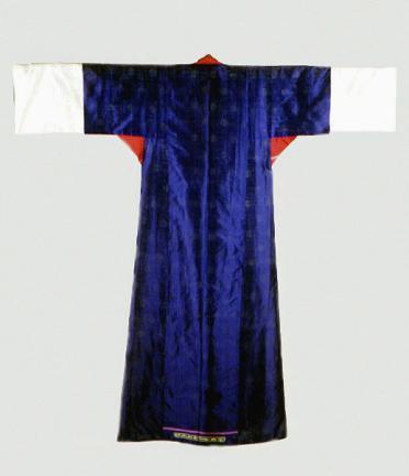 회운문단장옷(후)