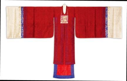 광화당 원삼(앞)