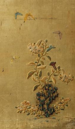 나리꽃과 나비