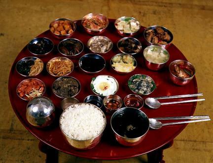 조선왕조궁중음식(반상차림)
