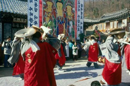 영산재(바라춤)
