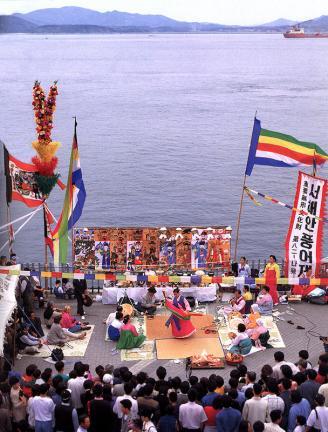 서해안대동굿(타살감음거리)