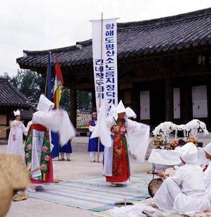 만신들의거상춤