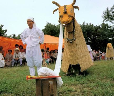 소치레(소에대한소개장면)