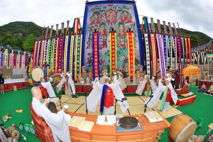 상단의식 ((사)두타산삼화사국행수륙대재보존회)