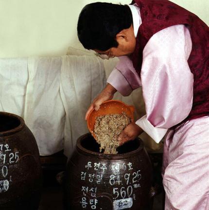 향토술담그기(면천두견주)