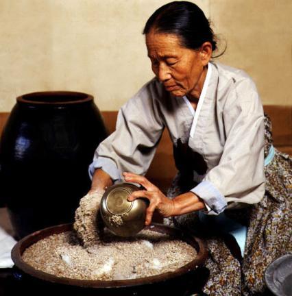 향토술담그기(경주교동법주)