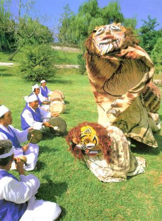사자와담보춤