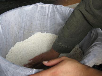고두밥 짓기