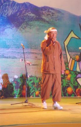 방앗돌굴리는노래 공연모습2(43회 탐라문화재 중 무형문화재 공개행사)
