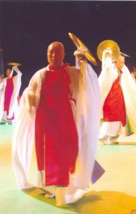 제주불교의식 공연모습1(43회 탐라문화재 중 무형문화재 공개행사)