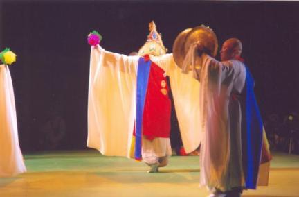 제주불교의식 공연모습2(43회 탐라문화재 중 무형문화재 공개행사)