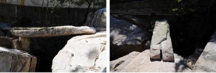 수성동 계곡에 걸린 옛 돌다리