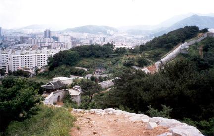 동래읍성지 북문 주변
