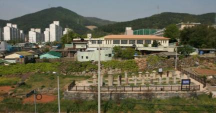 기장읍성 동문지 전경