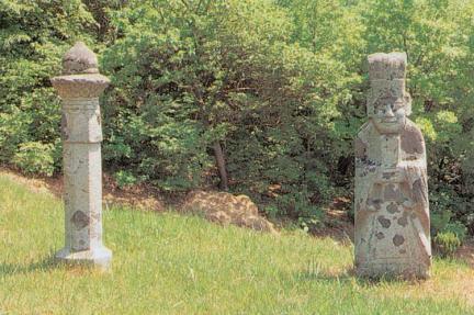 망주석및문인석