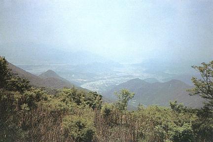 함왕성지에서바라본한강