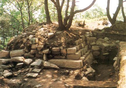 남문터출입구안쪽석축