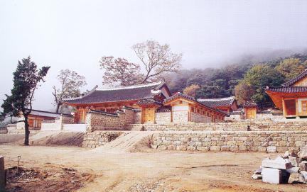 상궐지역전경(동-서)