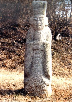 김식묘의 문인석